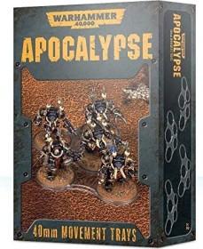 Games Workshop Warhammer 40.000 - Apocalypse: Einheitenbases 40mm (99220199073)