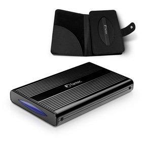 "Fantec DB-228U3e schwarz, 2.5"", USB 3.0 Micro-B/eSATA (1480)"