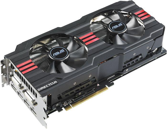 ASUS HD7970-DC2-3GD5 DirectCU II, Radeon HD 7970, 3GB GDDR5, 2x DVI, 4x DisplayPort (90-C1CRM0-U0UAY0BZ)