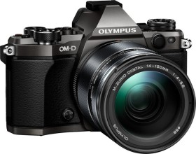 Olympus OM-D E-M5 Mark II titan Limited Edition mit Objektiv M.Zuiko digital ED 14-150mm