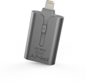 PNY Duo-Link 3.0 On-the-Go Lightning 32GB, USB-A 3.0/Lightning (FDI32GOTGAP3SG-EF)