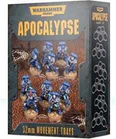 Games Workshop Warhammer 40.000 - Apocalypse: Einheitenbases 32mm (99220199072)