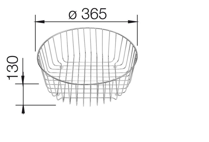 Blanco dish rack (220574)