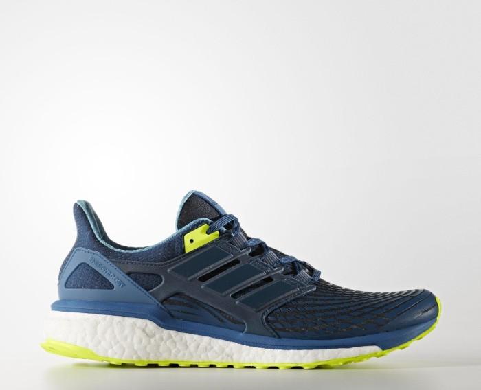 new concept 7b73f 4f388 adidas Energy Boost blue nightsolar yellow (męskie) (CG3358)