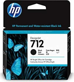 HP Tinte 712 schwarz, 80ml (3ED71A)