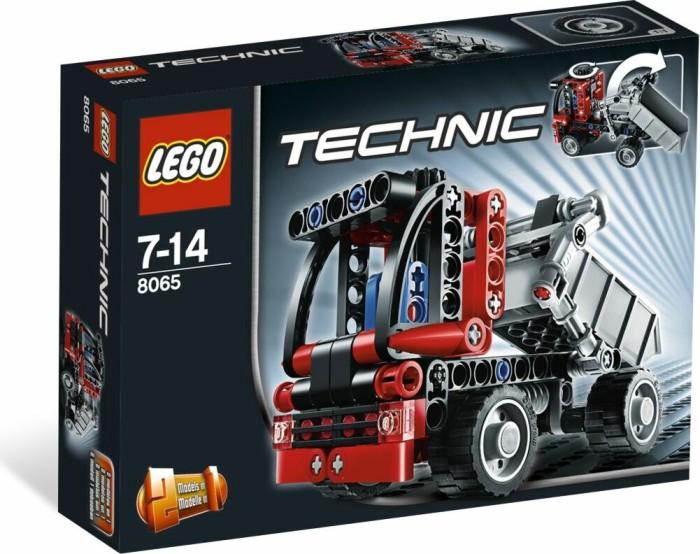 LEGO Technic Baustelle - Mini-Kipplaster (8065) -- via Amazon Partnerprogramm