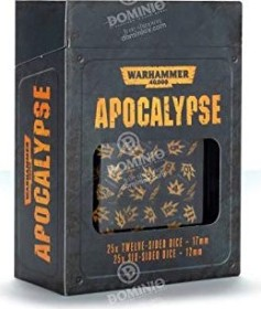 Games Workshop Warhammer 40.000 - Apocalypse: Würfel (99220199074)