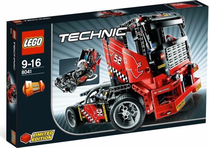 LEGO Technic Lastwagen - Renn-Truck (8041) -- via Amazon Partnerprogramm