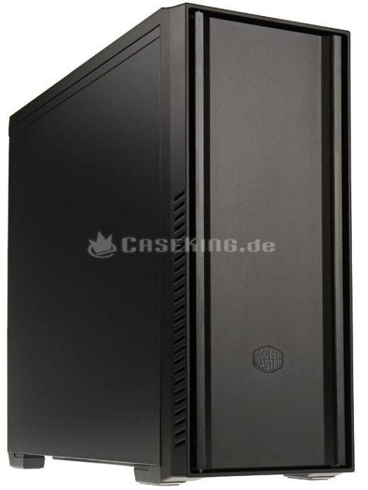 Cooler Master Silencio 650 Pure, schallgedämmt (RC-650L-KKN) -- © caseking.de