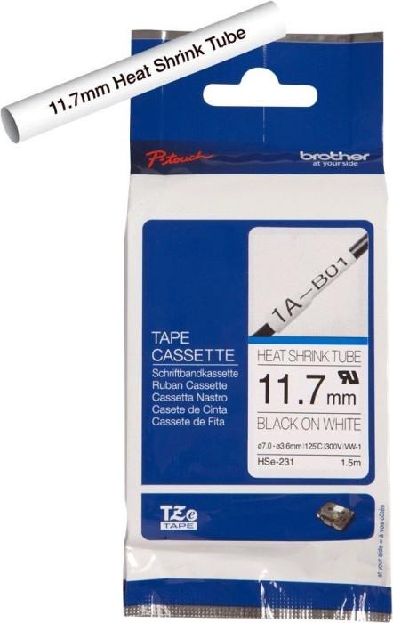 Brother HSe-231 schwarz auf weiß 11.7mm -- via Amazon Partnerprogramm
