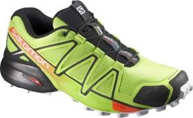 Salomon Speedcross 4 lime green/black/scarlet ibis (Herren) (398420)