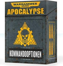 Games Workshop Warhammer 40.000 - Apocalypse: Kommandooptionen (04220199016)