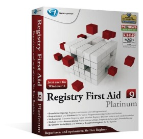 Avanquest Registry First Aid 9.0 Platinum (deutsch) (PC)
