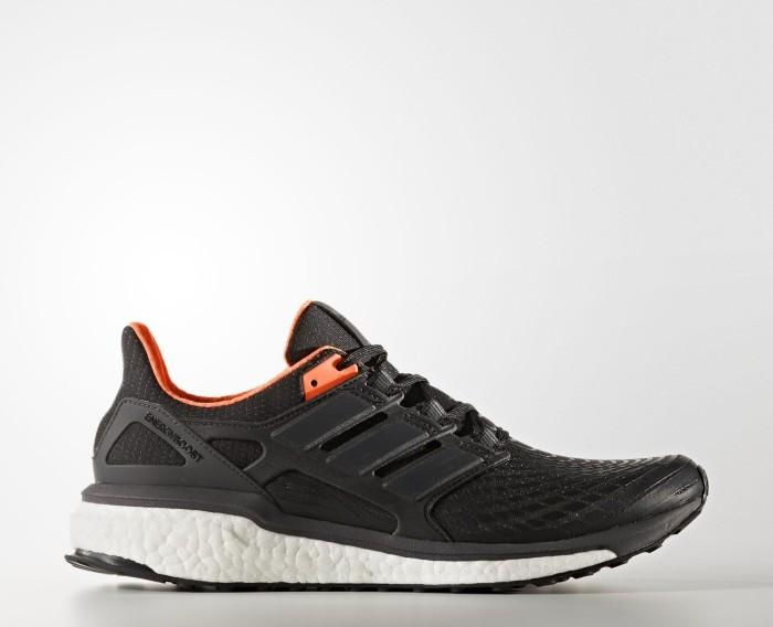 size 40 3e03b 835d7 adidas Energy Boost core blackutility blacksolar orange (men