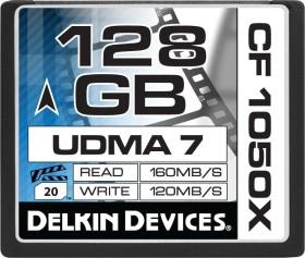 Delkin Cinema 1050X UDMA7 R160/W120 CompactFlash Card 128GB (DDCF1050-128GB)