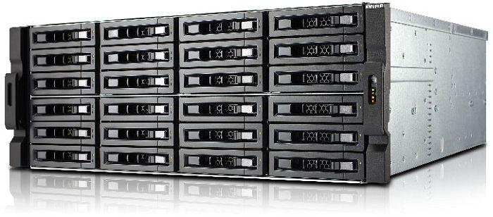 QNAP Turbo Station TS-EC2480U-E3-4GE-R2 240TB, 4x Gb LAN, 4HE