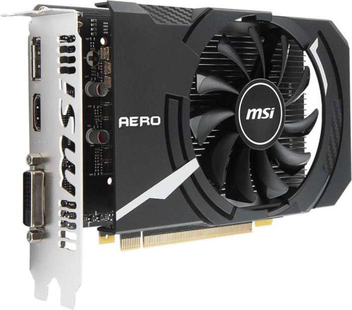 MSI GeForce GTX 1050 Ti Aero ITX 4G OCV1, 4GB GDDR5, DVI, HDMI, DP (V809-2606R)