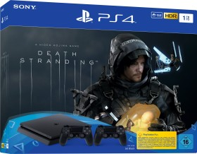 Sony PlayStation 4 Slim - 1TB inkl. 2 Controller Death Stranding Bundle schwarz (9315704)