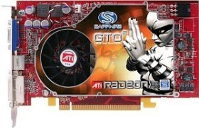 Sapphire Radeon X800 GTO², 256MB DDR3, VGA, DVI, S-Video, full retail (21067-00-50)