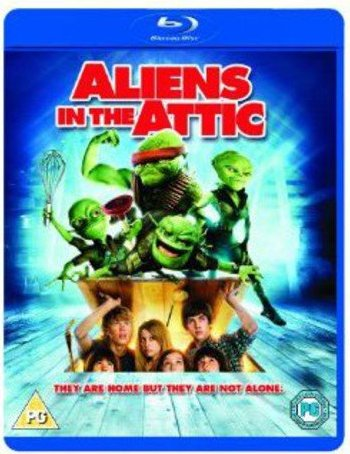 Aliens In The Attic (Blu-ray) (UK) -- via Amazon Partnerprogramm