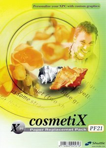 Shuttle PF21 CosmetiX Glossy-paper for CosmetiX Design kit PF20