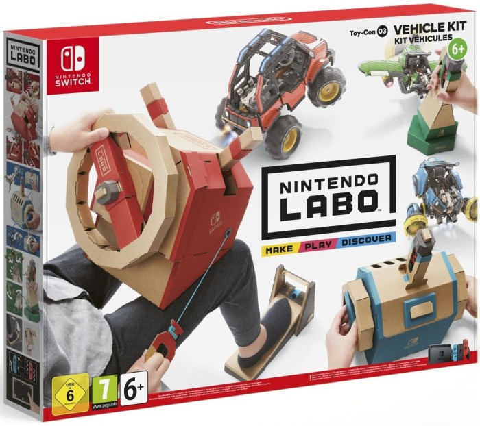 Nintendo Labo Vehicle set (switch)