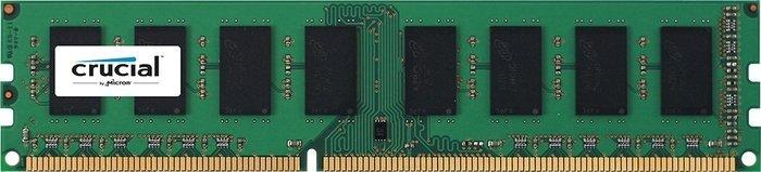 Crucial DIMM 2GB, DDR3-1600, CL11, single sided (CT25664BA160B)
