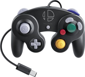 Nintendo GameCube Controller Super Smash Bros. Edition schwarz (Switch/WiiU)