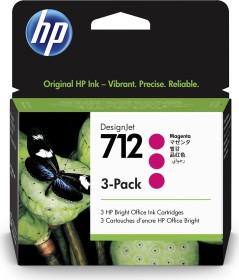 HP Tinte 712 magenta, 3er-Pack (3ED78A)