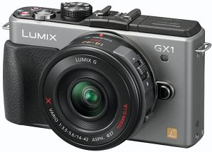 Panasonic Lumix DMC-GX1 (EVIL) body silver