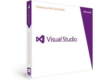 Microsoft: Visual Studio 2012 Professional + MSDN (English) (PC) (79D-00276)