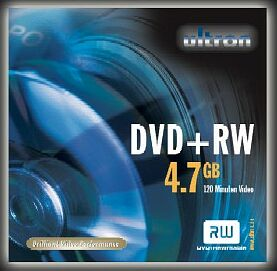 Ultron DVD+RW 4.7GB, 10-pack