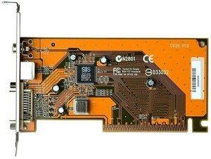 Shuttle CV20 DVI/TV-out-AGP card for SS51G