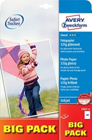 Avery-Zweckform Classic Inkjet photo paper glossy A4, 125g/m², 75 sheets (2567-75)