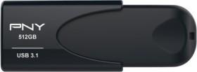 PNY Attaché 4 3.1 black 512GB, USB-A 3.0 (FD512ATT431KK-EF)