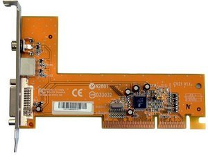 Shuttle CV21 DVI/TVout-AGP card for SB51G, SB61G2
