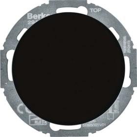 Berker Serie R.classic Universal-Drehdimmer Serie, schwarz glänzend (29442045)