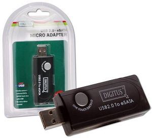 Digitus DA-70149-1 eSATA/SATA to USB adapter