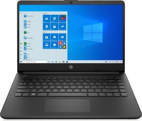 HP 14s-fq1072ng Jet Black, Ryzen 7 5700U, 8GB RAM, 256GB SSD, DE (46H56EA#ABD)