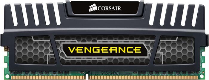Corsair Vengeance schwarz DIMM 8GB, DDR3-1600, CL10-10-10-27 (CMZ8GX3M1A1600C10)