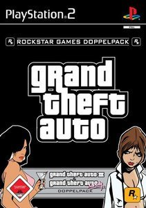 Grand Theft Auto (GTA) Doppelpack (German) (PS2)