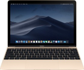 Apple MacBook 12 gold, Core i7-7Y75 OC, 8GB RAM, 256GB SSD, UK/US [2017 / Z0U1]