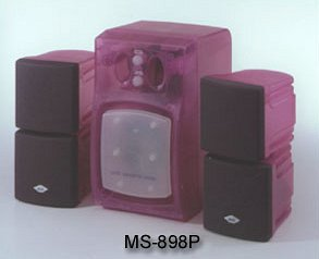 Sky Hawk MS-898 2.1 speakers set (various colours)