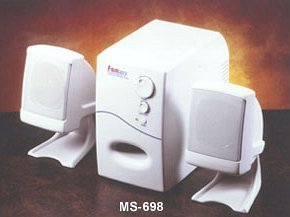 Sky Hawk MS-698 2.1 speakers set (various colours)