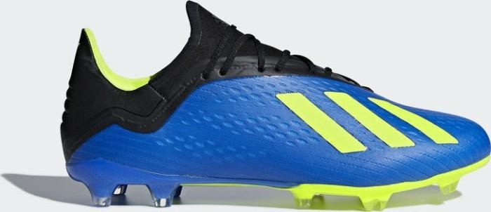 adidas X 18.2 FG Blau Gelb