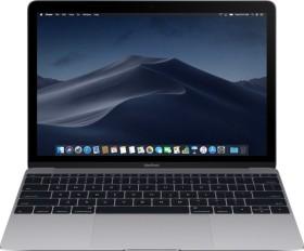 Apple MacBook 12 Space Gray, Core i5-7Y54 OC, 16GB RAM, 512GB SSD, UK/US [2017 / Z0TY]