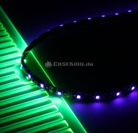 Lamptron FlexLight Pro, UV, 24 LEDs, LED-Streifen (LAMP-LEDPR2405)