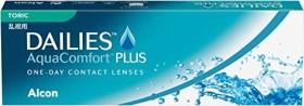 Alcon Dailies AquaComfort Plus Toric, +0.50 Dioptrien, 30er-Pack