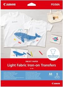 Canon LF-101 Light fabric Iron-on Transfers A4, 125g/m², 5 sheets (4004C002)