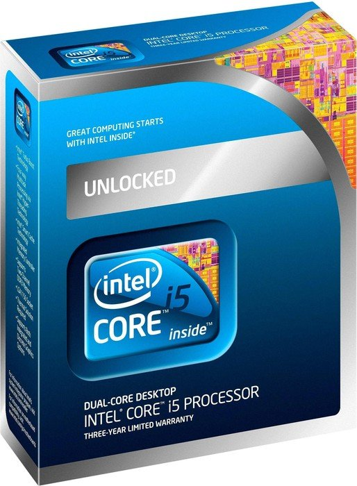 Intel Core i5-655K, 2x 3.20GHz, boxed
